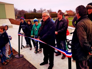 inauguration Caen