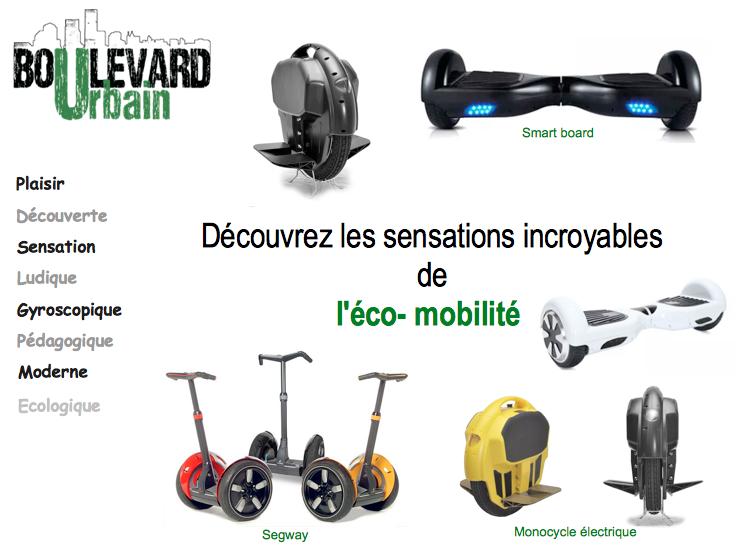 Famille des appareils d'éco-mobilité