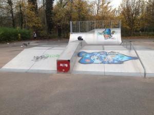 BU Vue skatepark