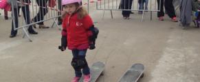 Lillebonne : skate et trottinette